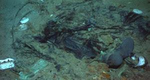 restos humanos del titanic