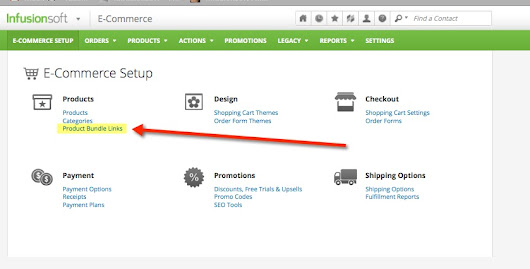 How To Integrate Infusionsoft Product Bundle Links With SubscriptionBoss - Subscription Boss