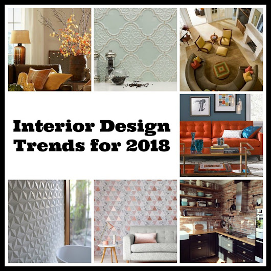 Interior Design Trends for 2018 - Tradesmen.ie Blog