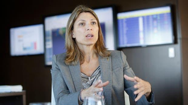 La presidenta de Aerolíneas Argentinas, Isela Costantini