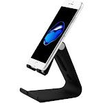 Valor Adjustable Multi-angle Desktop Foldable Stand Holder for Cell Phone Tablet - Black