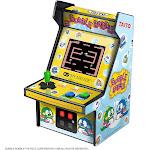 My Arcade Bubble Bobble Micro Player - Collectible Mini Arcade Machine, Yellow