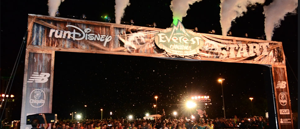 special effects snow  2013 disney run event