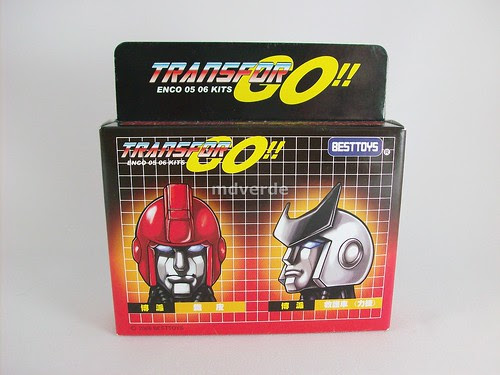 Transformers Cabezas para Ironhide y Ratchet G1