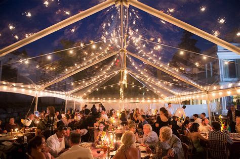 30' x 45' Clear Top Tent Rental   McCarthy Tents & Events