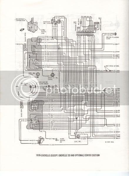 35 1970 Chevelle Wiring Diagram