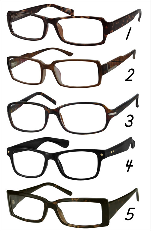 zenni optical choices