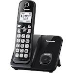 Panasonic KX-TGD510B Expandable Cordless Phone - Black