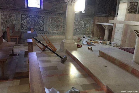 'Jewish extremists' condemned for vandalising Jerusalem church
