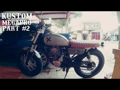 Kustom Honda Megapro Part #2 - Tes Knalpot Blar Blarrr
