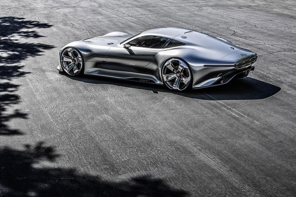 Mercedes Benz AMG Vision GT Concept Super Car For Gran ...