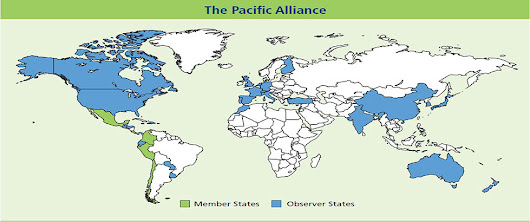 Across the ocean:  New associate members of the Pacific Alliance
