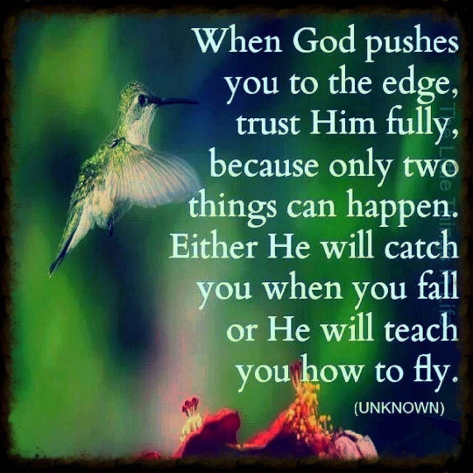 When God Pushes You To The Edge Pictures Photos And Images For