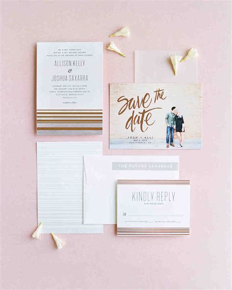 29 Ideas for Unique Wedding Invitations   Martha Stewart