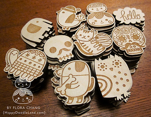 Before being made into brooches... : )