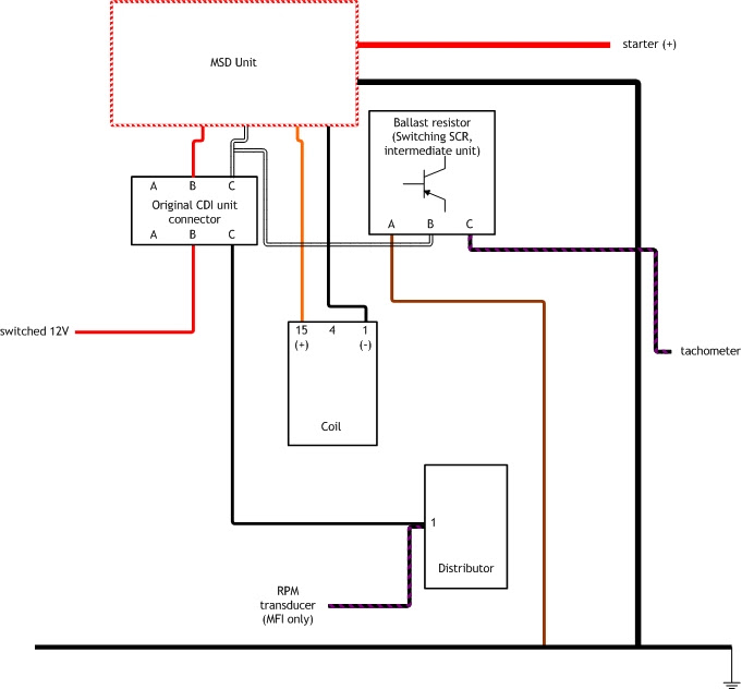 Msd Wiring Diagram