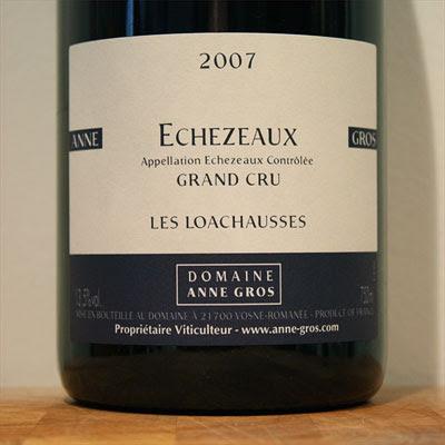 Echezeaux 'Les Loachausses' 2007 from Anne Gros