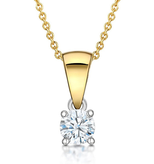 This summer buy Cubic Zirconia Gold Pendants, a timeless gift at low cost