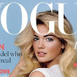 'She's not a stereotypical model... but she's hardly a heffalump!' Kate Upton gets British Vogue editor's approval on cover debut