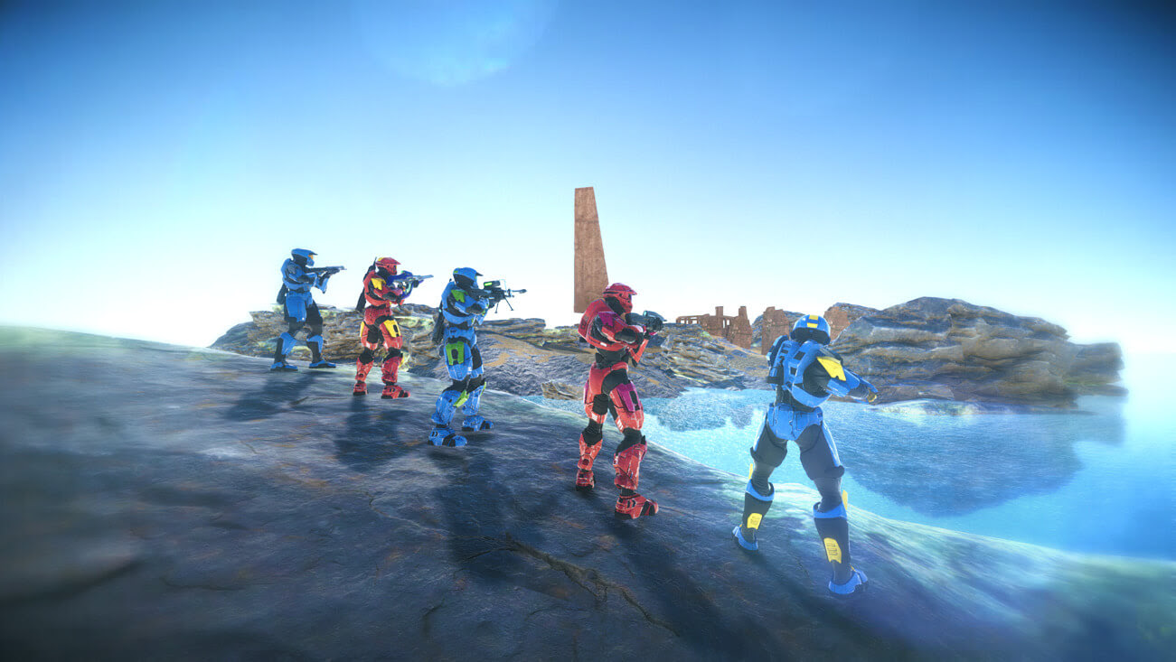 A Halo fan game lives on with the approval of 343 Industries screenshot