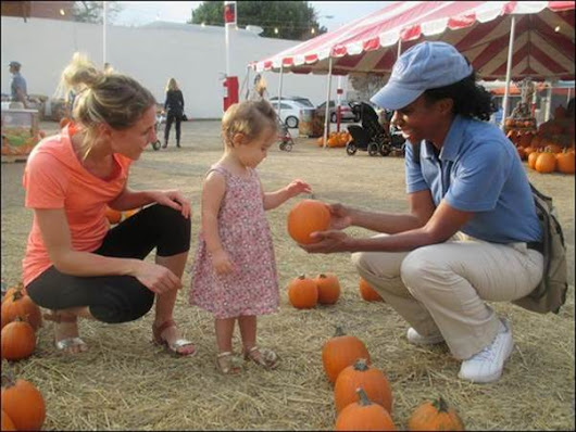 Helpful Guys in Blue Hosting Free Pumpkin Event in Corona | Life in Corona