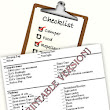 Printable Camping Checklist -  Printable Equipment, Gear and Supplies Checklists