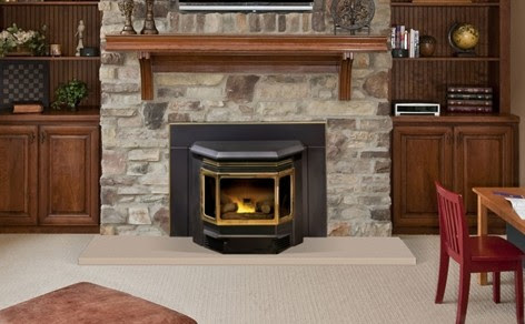 Nothing Burns like a Wood Burning Fireplace Insert From Quadra-Fire