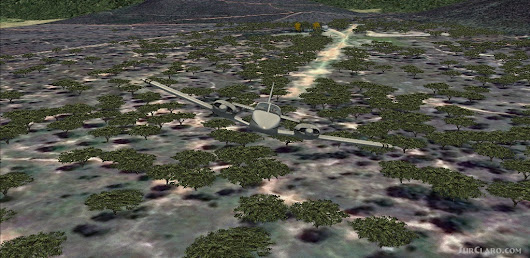 FSX Kunkuru Game Lodge Airstrip Scenery (21486)