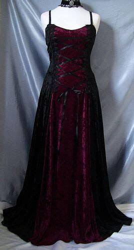 gothic medieval black crushed velvet corset handfasting