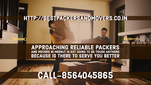 Who are the best packers and movers in Meerut?