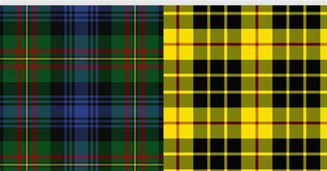 The MacLaren Modern tartan is a predominantly green and