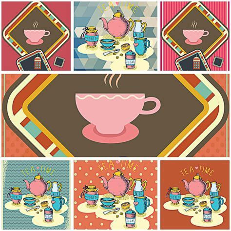 Coffee shop cute pattern vectors   Free download