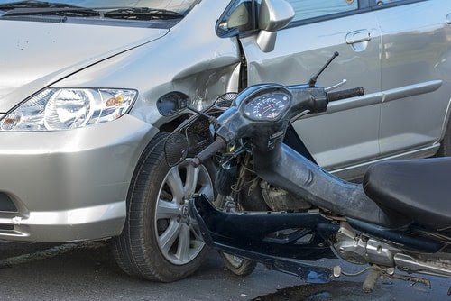 Proving Fault in a Motorcycle Accident