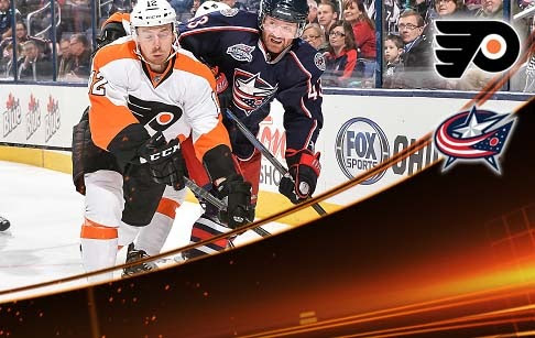 FIVE THINGS: Flyers vs Columbus Blue Jackets
