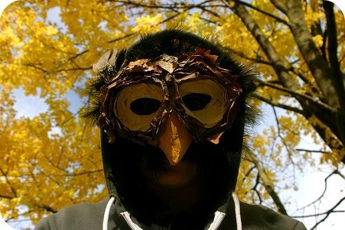 My Owl Barn Diy Owl Mask