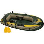 Intex Seahawk 2-Person Inflatable Raft, Green