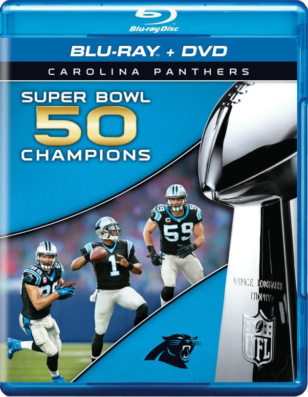 Super Bowl 50 NFL Films DVD covers for Broncos and Panthers  SI.com