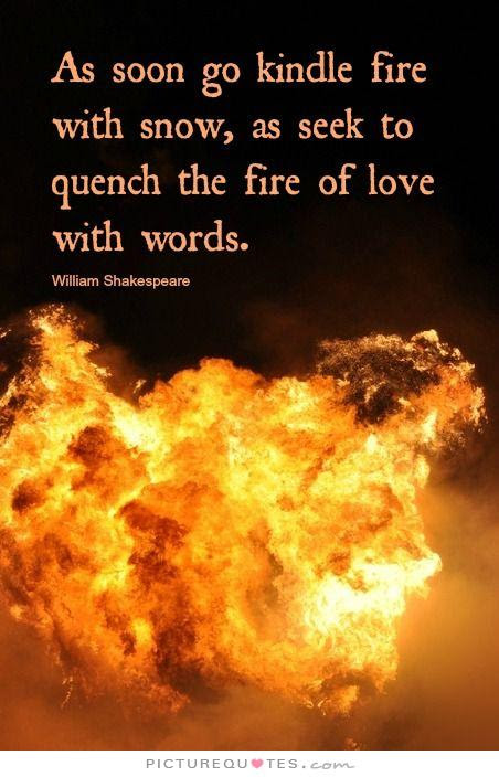 Quotes About Passion And Fire 62 Quotes
