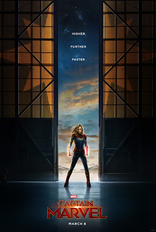 Marvel Studios' CAPTAIN MARVEL - Trailer & Poster Now Available! - Peyton's Momma™