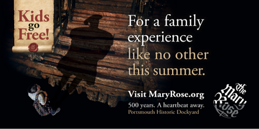 Kids Go Free at The Mary Rose