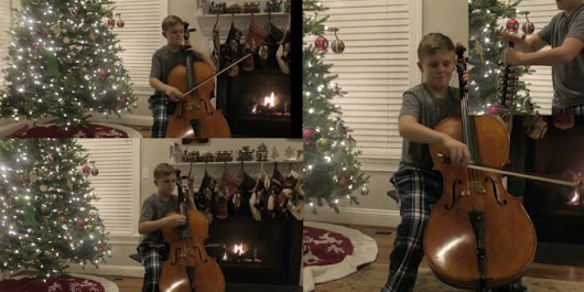 "You've Got to See This LDS Teen's ""Christmas Cello Countdown"" - LDS Daily"