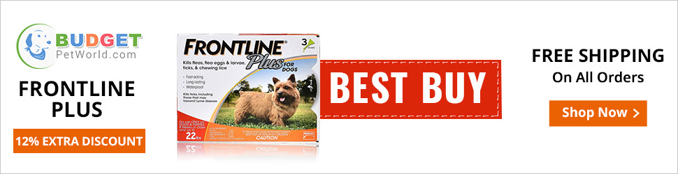 Frontline Plus is the no.1 vet recommended flea and tick treatment for canines. Easy to apply, this topical treatment combats fleas and ticks for a whole month.