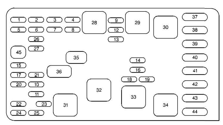 Wiring Diagram: 30 2000 Buick Lesabre Fuse Box Diagram