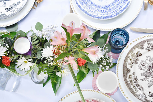 Perfect Summer Table Setting - 5 Essential Tips for Summer Entertaining