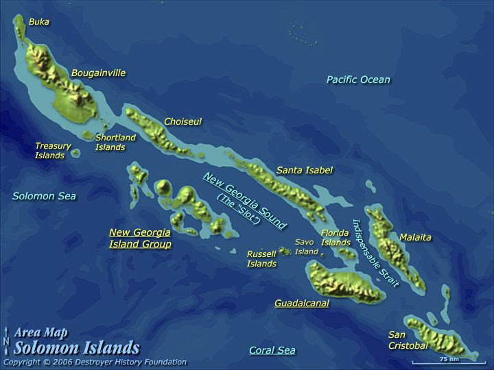 Large Earthquake Strikes The Solomon Islands