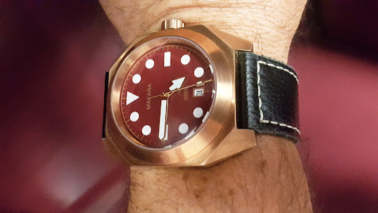 Review - Makara Sea Turtle Bronze Dive Watch | Microbrand Watch World