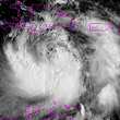 Tropical Storm Isaac stronger, set to cross Haiti and Cuba on path to U.S.