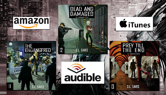 Coming Soon: The Endangered Series Audiobooks