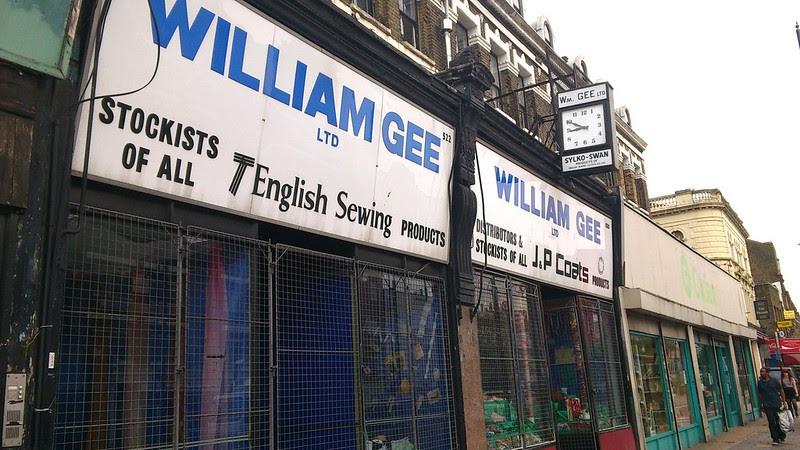 09 William Gee, Kingsland Road