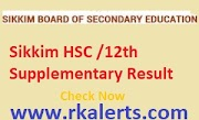 Sikkim HSC Supplementary Result 2020 Declared Sikkim Board 12th Arts Commerce Science Compartment Result Date  Subject Wise/School Wise @sikkimhrdd.org